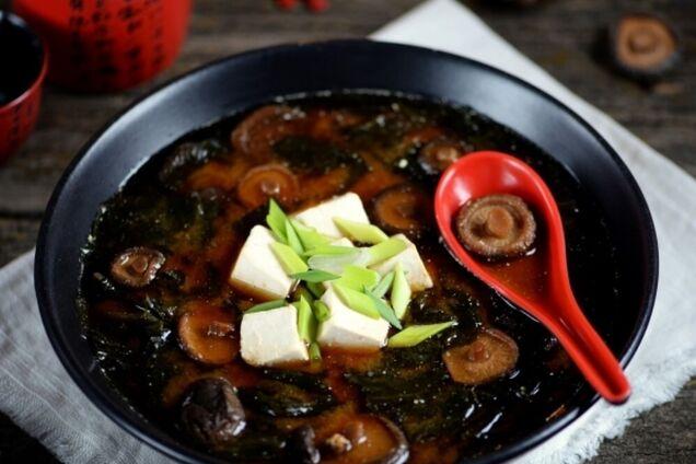 Місо-суп із сушеними грибами
