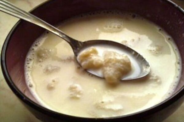 Молочний суп із борошном