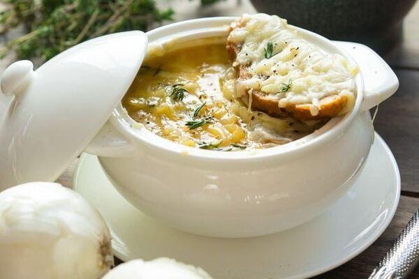 Цибулевий суп класичний