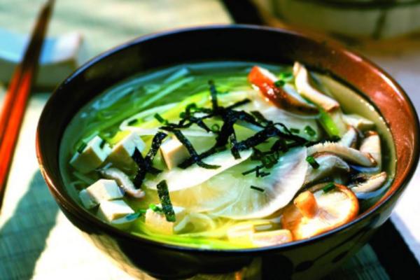 Місо-суп на рибному бульйоні