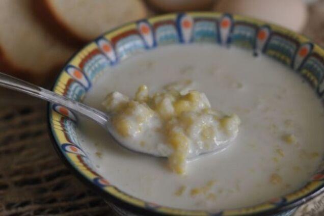 Молочний суп по-білоруськи