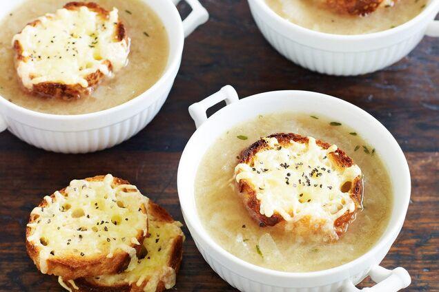 Луковый суп от похмелья