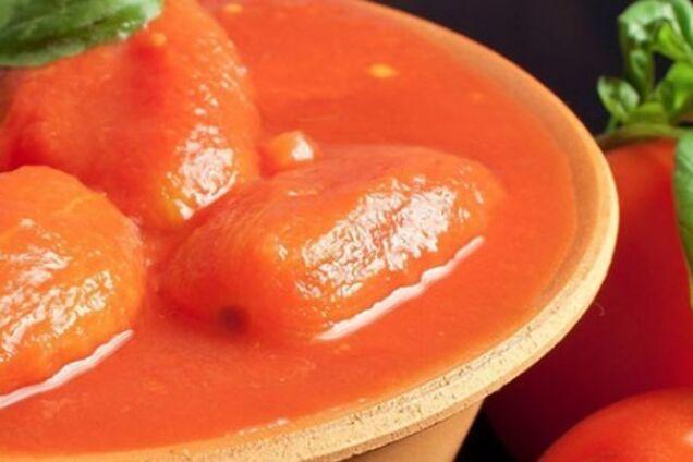 Салат із помідорів з часником