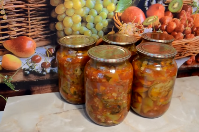 Овощной салат по-молдавски