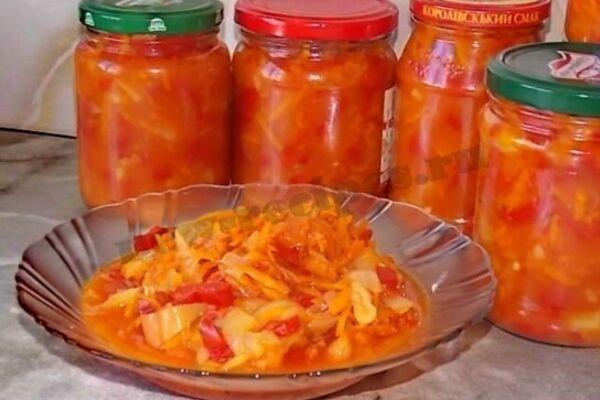 Салат з болгарського перцю за 5 хвилин
