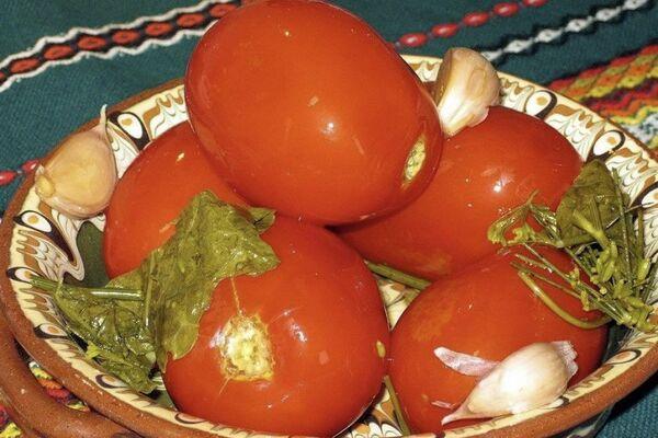 Квашеные помидоры без стерилизации