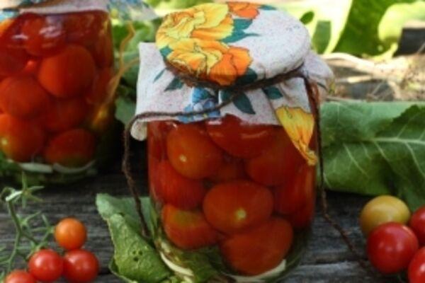 Квашеные помидоры с хреном