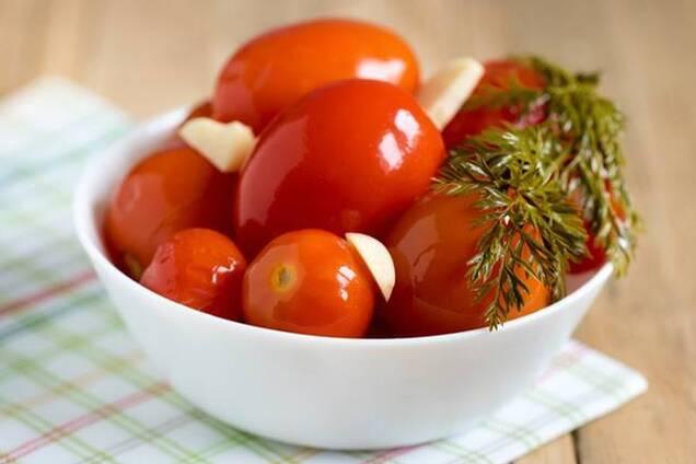 Квашені помідори ''як бочкові''
