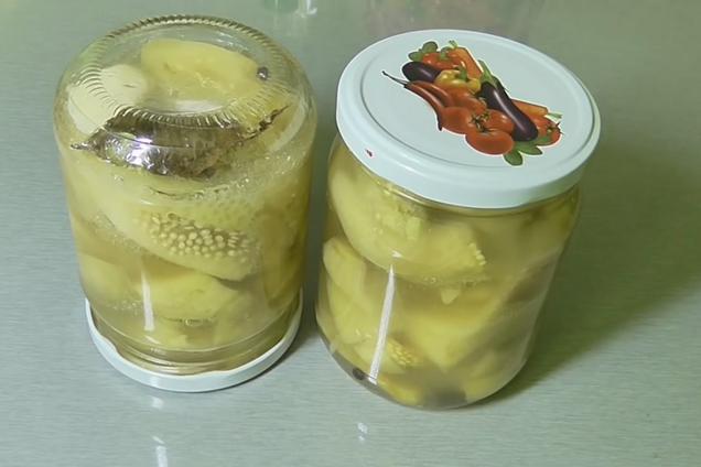 Маринованные баклажаны в маринаде