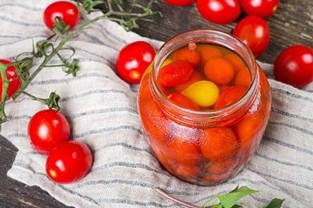 Квашеные помидоры без чеснока