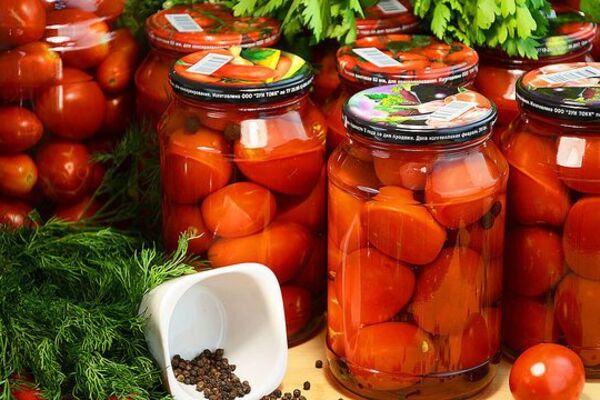 Сладкие маринованные помидоры