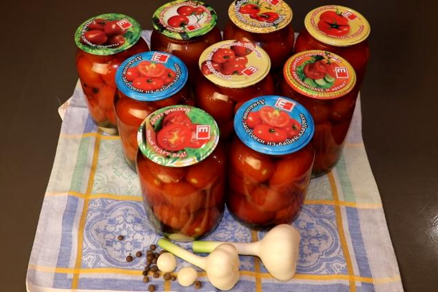 Маринованные помидоры классические