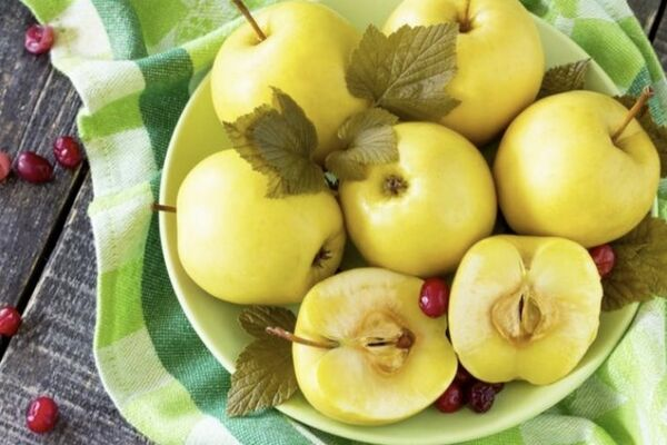Моченые яблоки классические