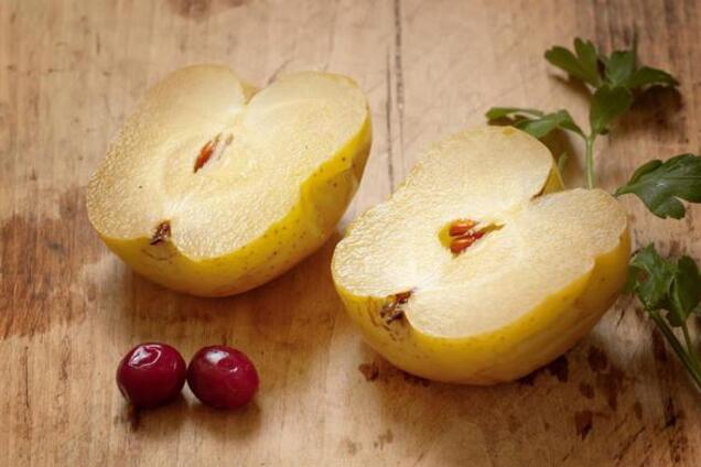 Моченые яблоки с горчицей и мукой