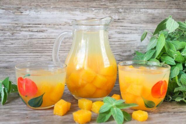 Компот із гарбуза з лимоном