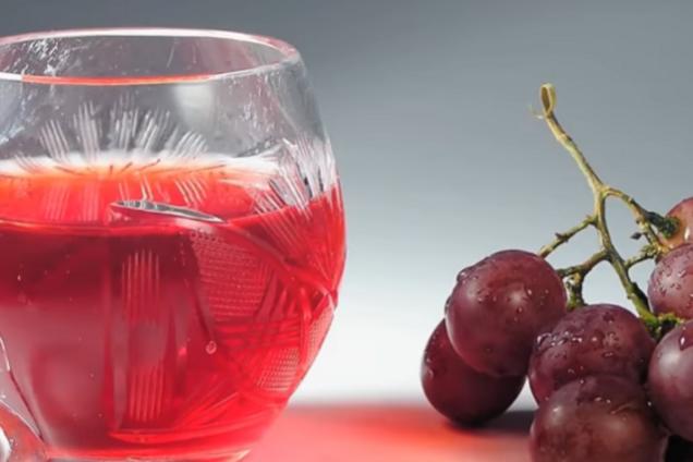 Компот из винограда классический
