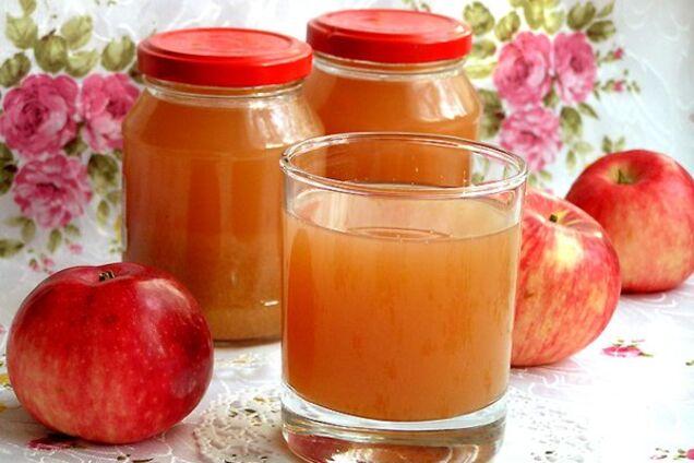 Яблочный сок без мякоти