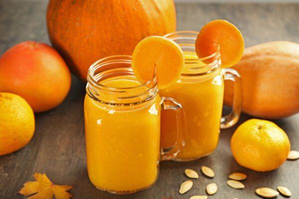 Гарбузово-апельсиновий сік