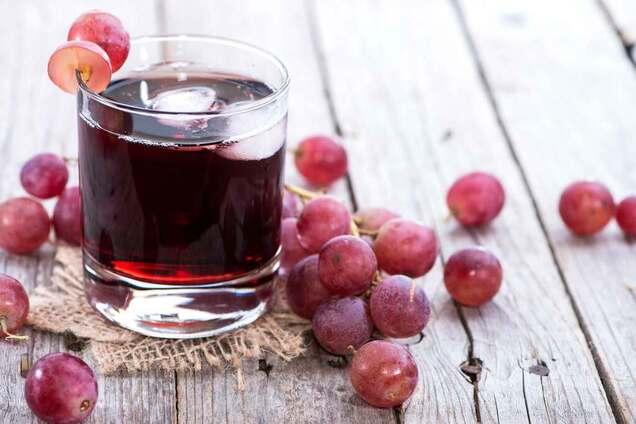 Виноградний сік класичний