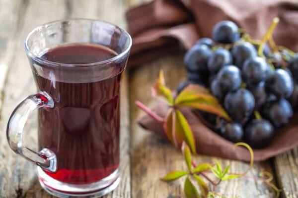 Виноградный сок без мякоти