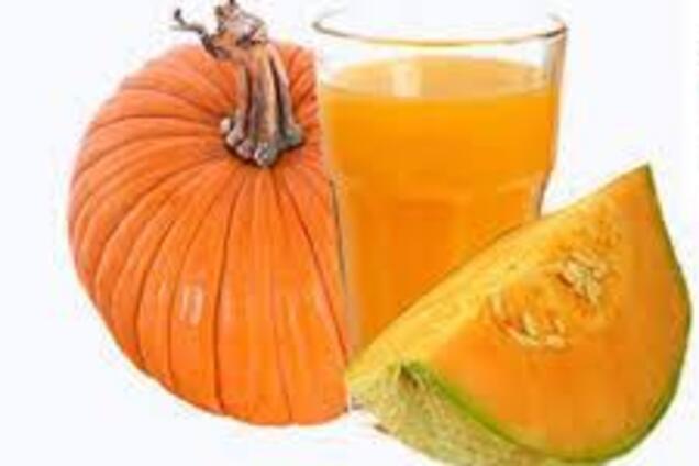 Тыквенный сок с лимонной кислотой