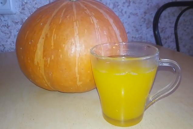 Густой тыквенный сок