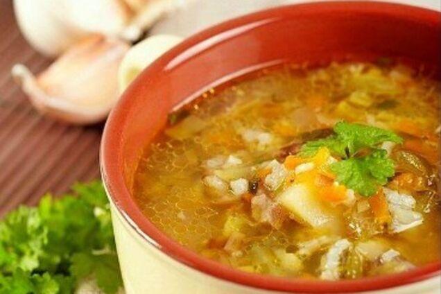 Розсольник із супового набору