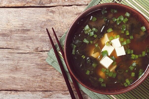 Місо-суп із сушеними водоростями