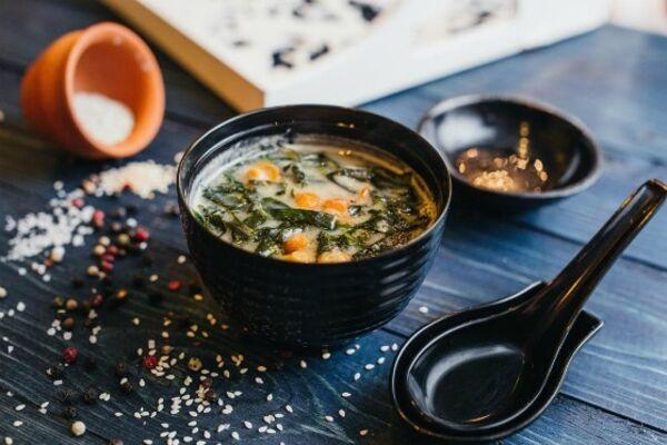 Простий місо-суп