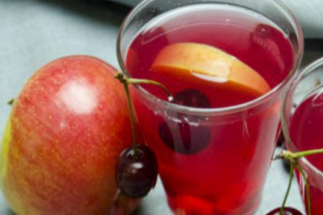Яблучно-ягідний компот