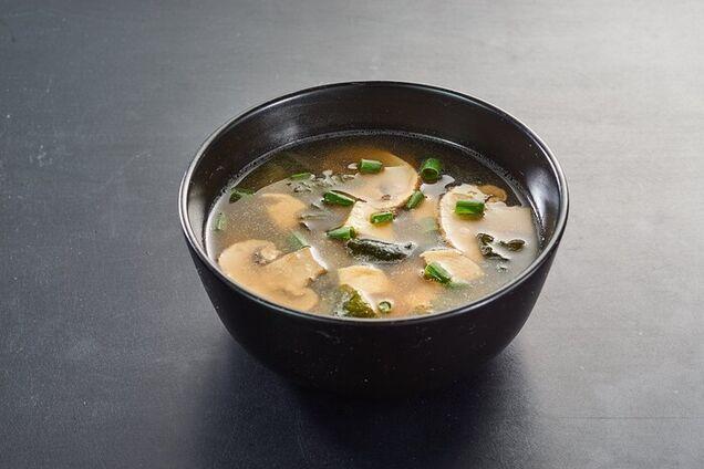 Місо-суп із печерицями