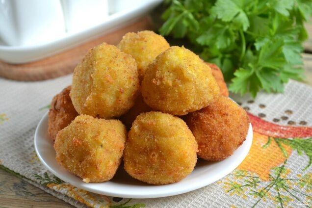 Картопляні пончики на дріжджах
