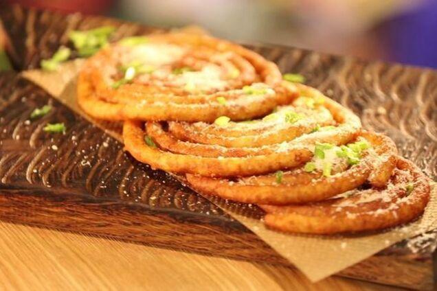Картофельные пончики ''Спиральки''