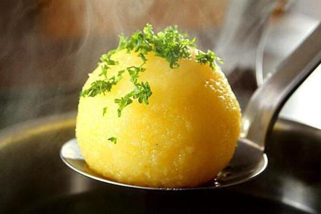 Домашні картопляні галушки