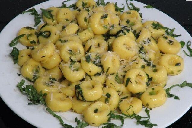 Картопляні галушки із сиром