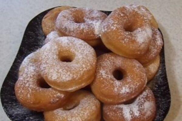 Дріжджові пончики на горілці