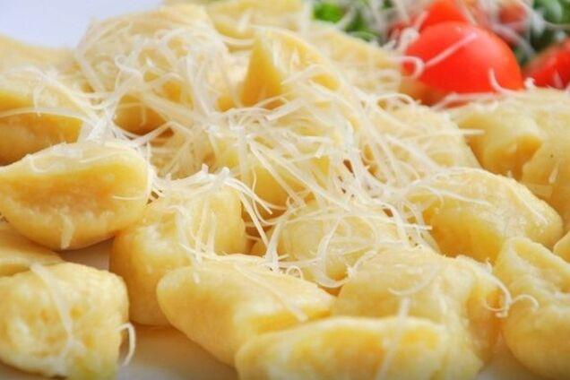 Клецки с сыром и манкой