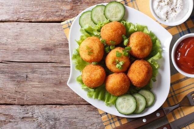 Картофельные крокеты с крахмалом