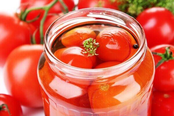 Квашеные помидоры холодным способом