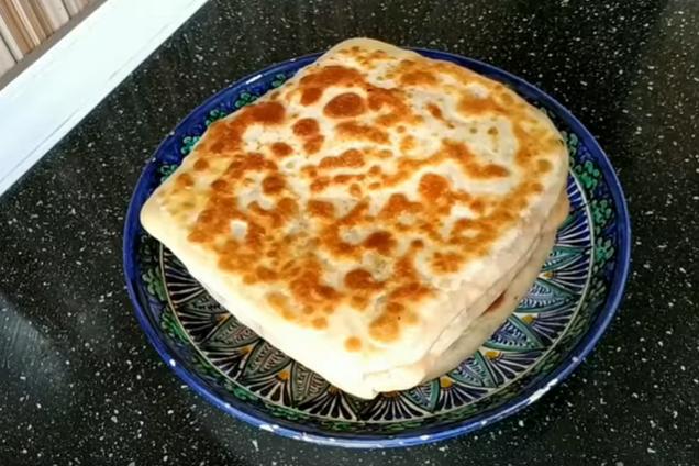 Катлама с картошкой