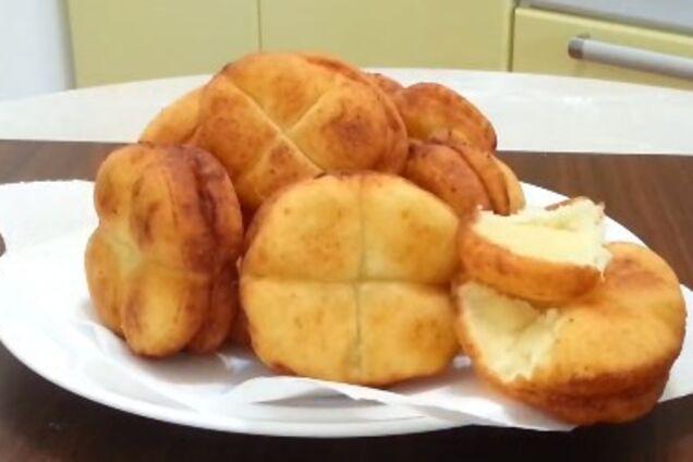 Сирні пончики ''Дітям до школи''