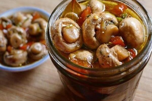 Мариновані гриби ''Закусочні''