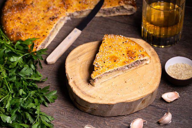 Заливний пиріг на кефірі