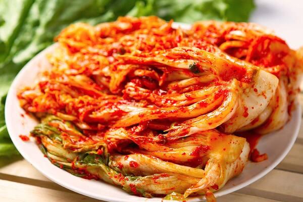 Кимчи з імбирем