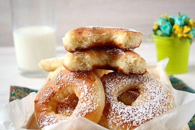 Пончики дріжджові
