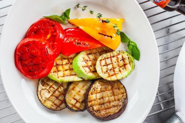 Маринад для овочів гриль