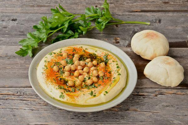 Хумус из нутовой муки