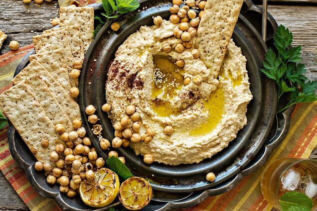 Хумус из чечевицы