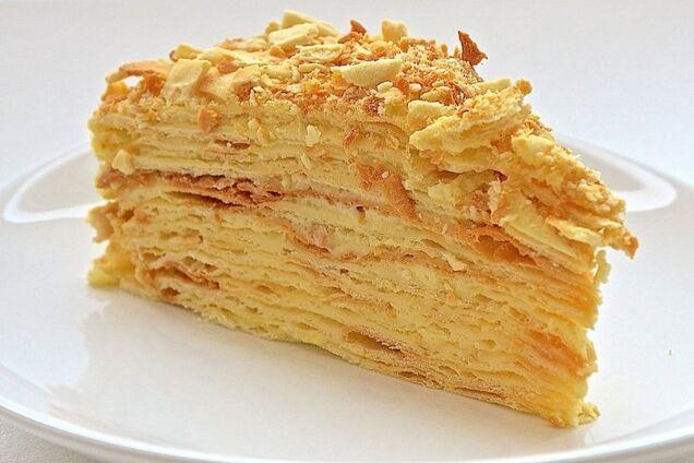 Торт ''Наполеон'' на сковородке