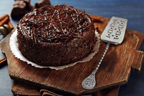 ''Пражский'' торт с какао